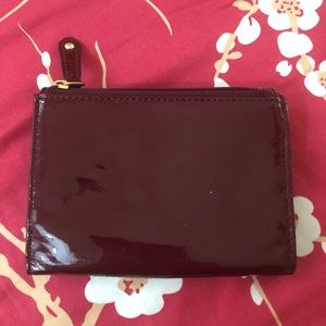 Coach Bags - Coach Red Patent Leather Wallet